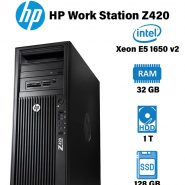 سرور استوک HP Work Station Z420 - Xeon E5 1650 V2