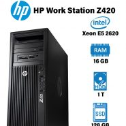 سرور استوک HP Work Station Z420 - Xeon E5 2620