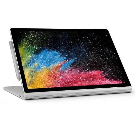 لپ لپ تاپ 13 اینچی مایکروسافت مدل Surface Book 2- Aتاپ 13 اینچی مایکروسافت مدل Surface Book 2- C